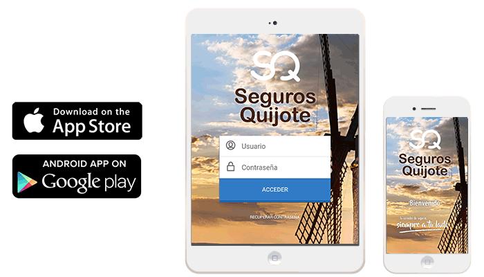 App Seguros Quijote